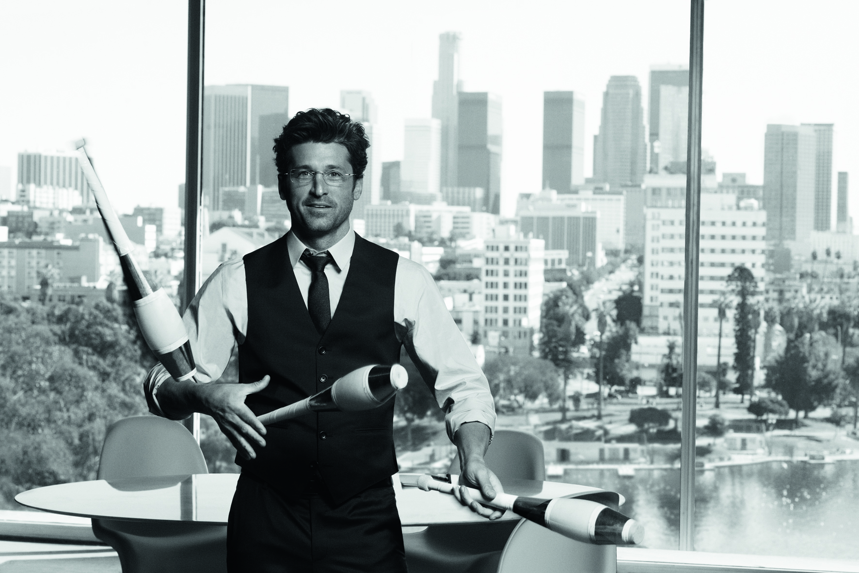 Patrick Dempsey The New Face Of Silhouette Optical Prism Magazine