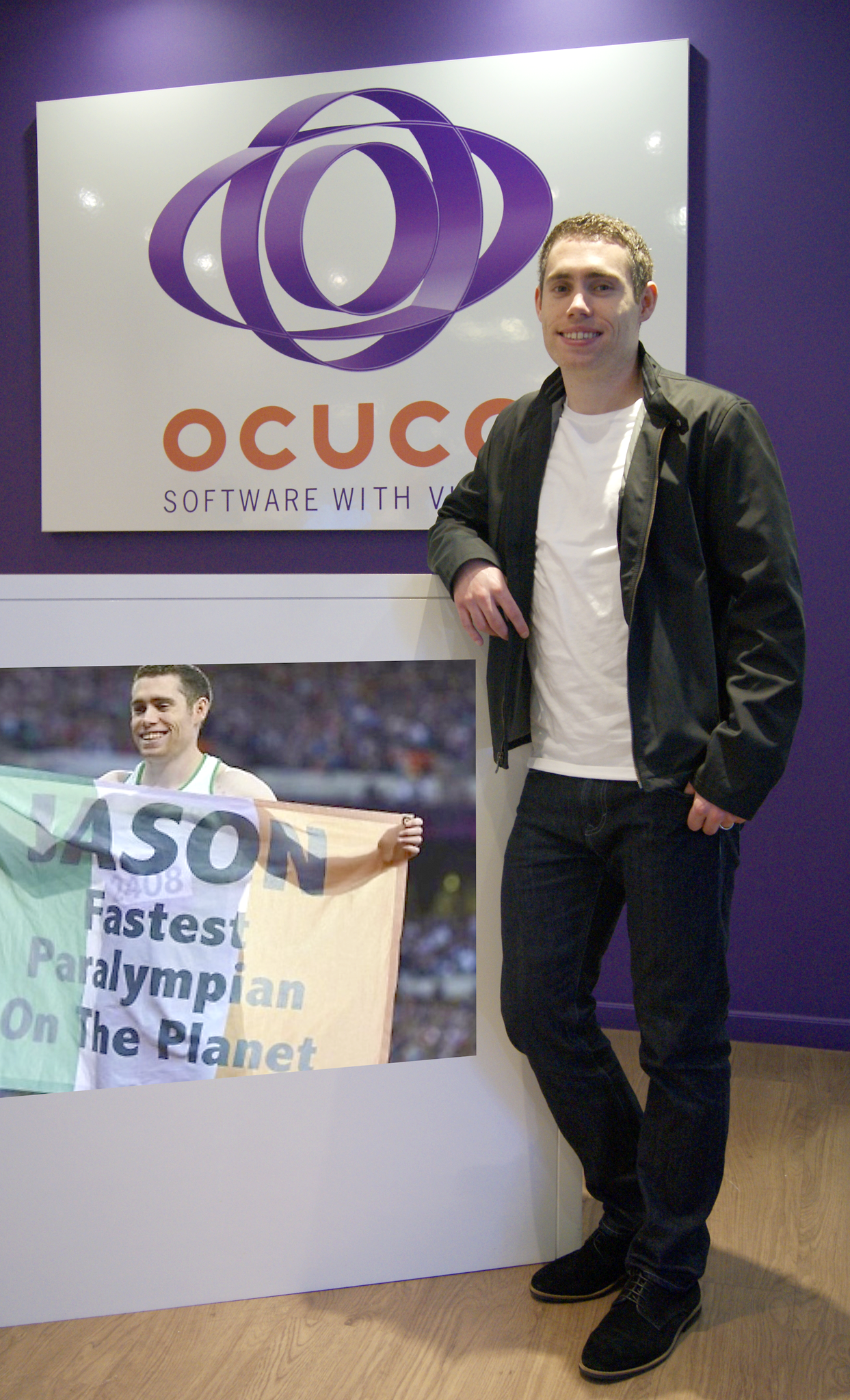 Ocuco sponsors fastest paralympian on the planet