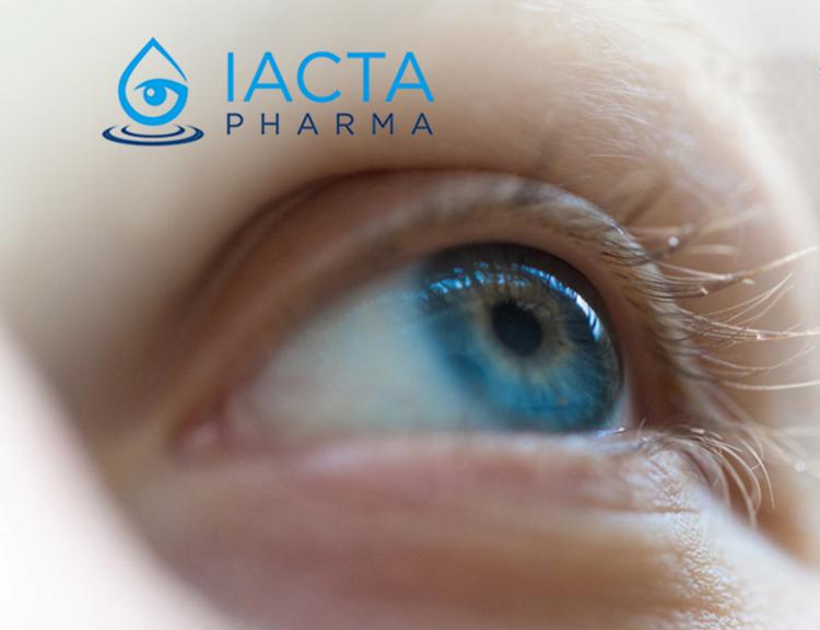 IACTA Pharma licensed to develop new dry eye treatment in North America
