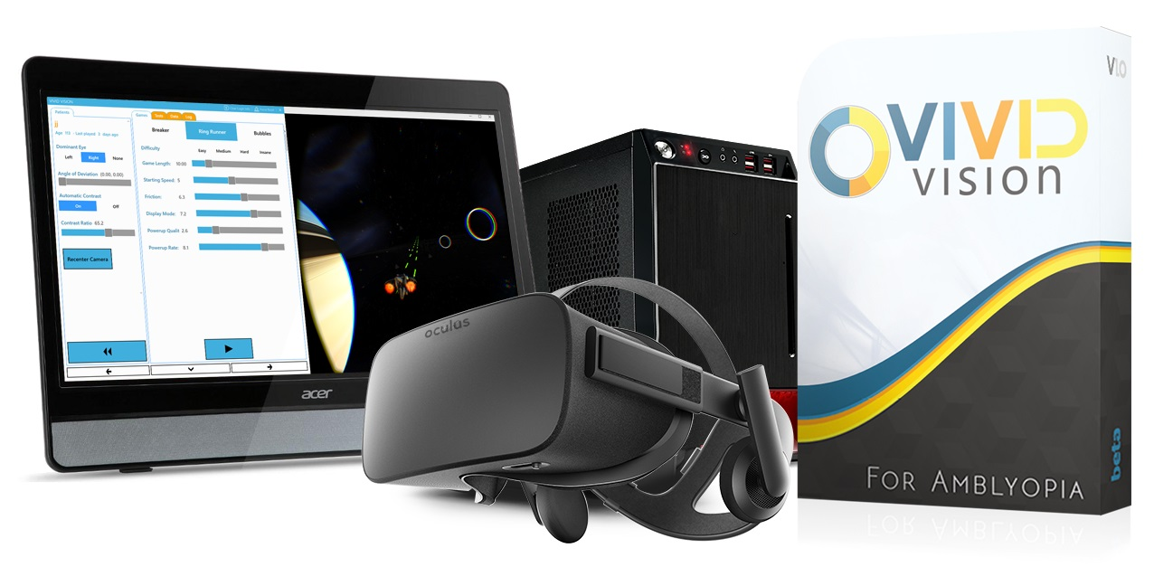 Vivid Vision Home brings virtual reality eyecare treatment to the home