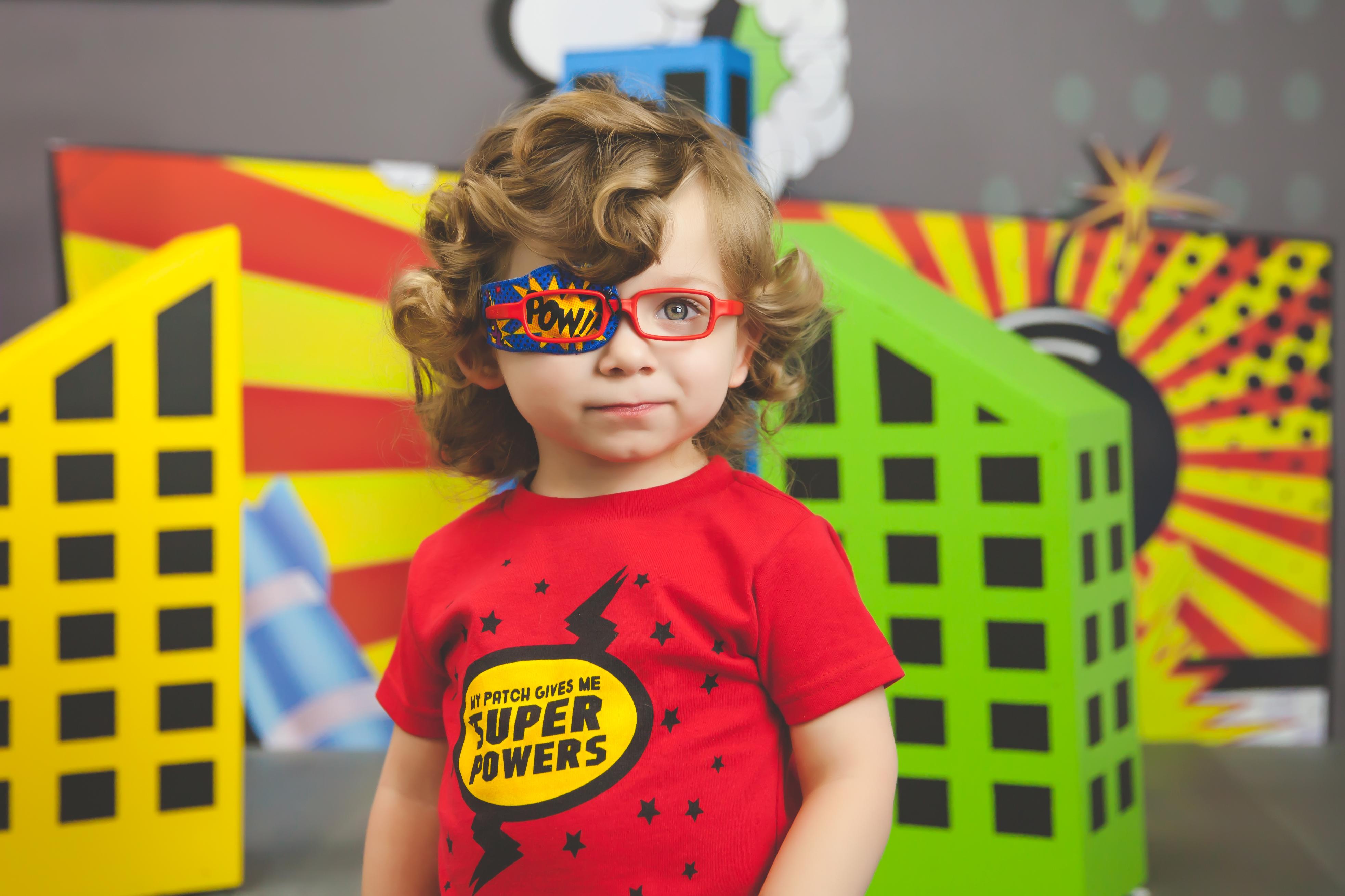 Making eye patching fun for kids through technology