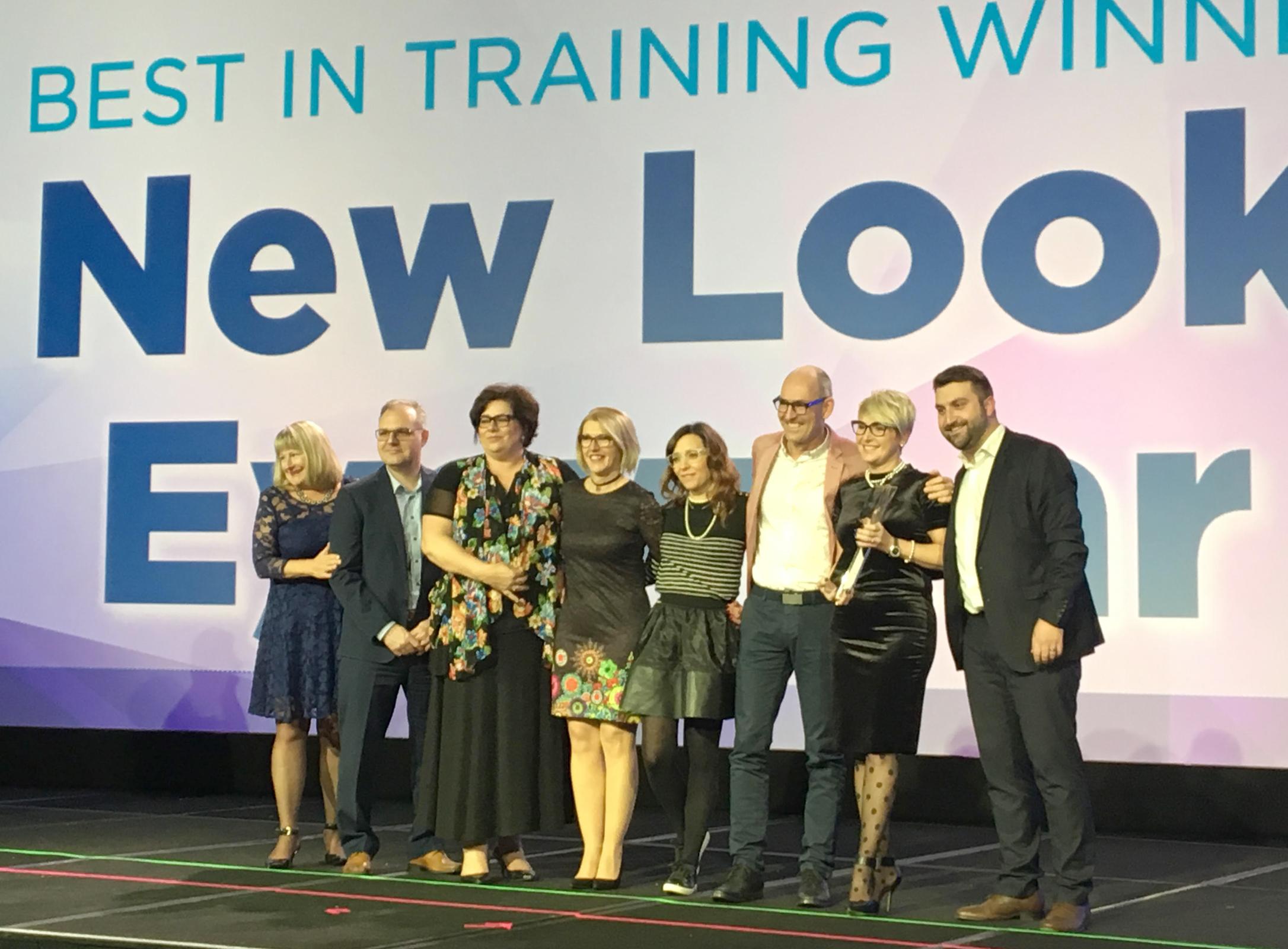 New Look Eyewearnamed 2016 Bestin Training Award winnerat 21st Transitions Academy