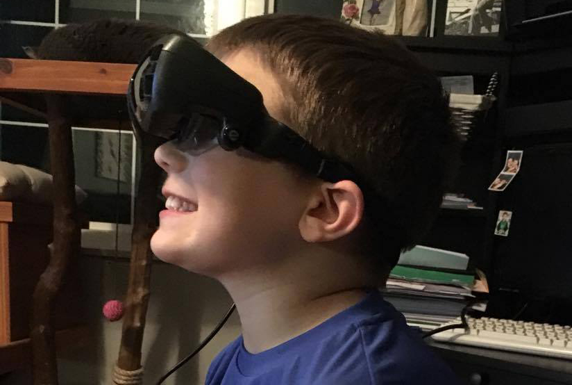 eSight: Receiving the gift of sight through technology