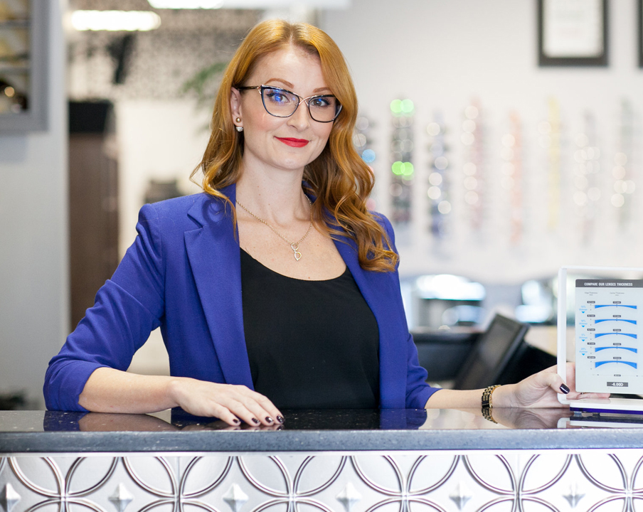 FRAMED: Born with 'optical genes' – Sheena Taff of Roberts & Brown Opticians