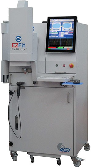 Edging facility enhanced with MEI EZFIT