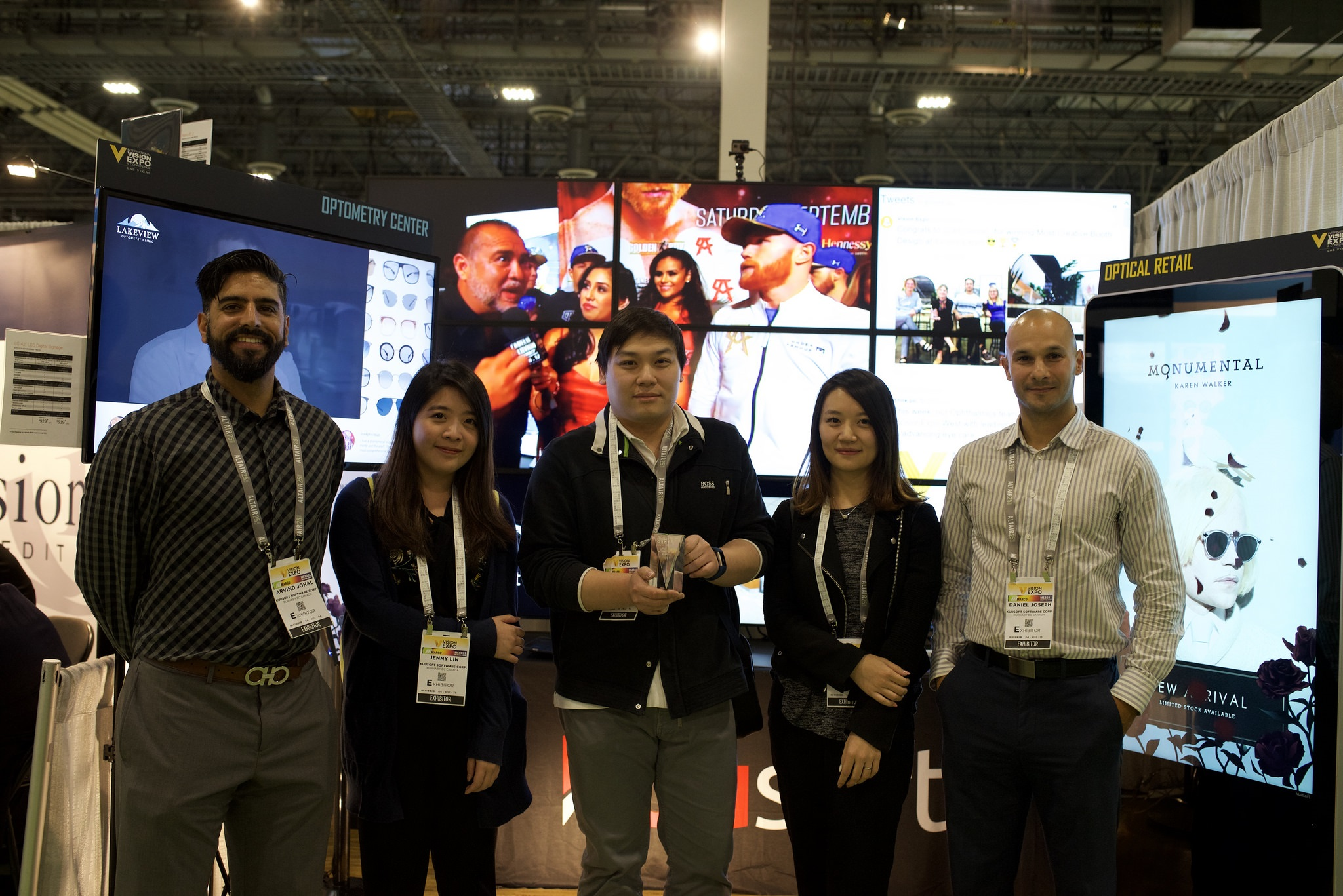Vision Expo: best exhibitor booth contest winners | Optical