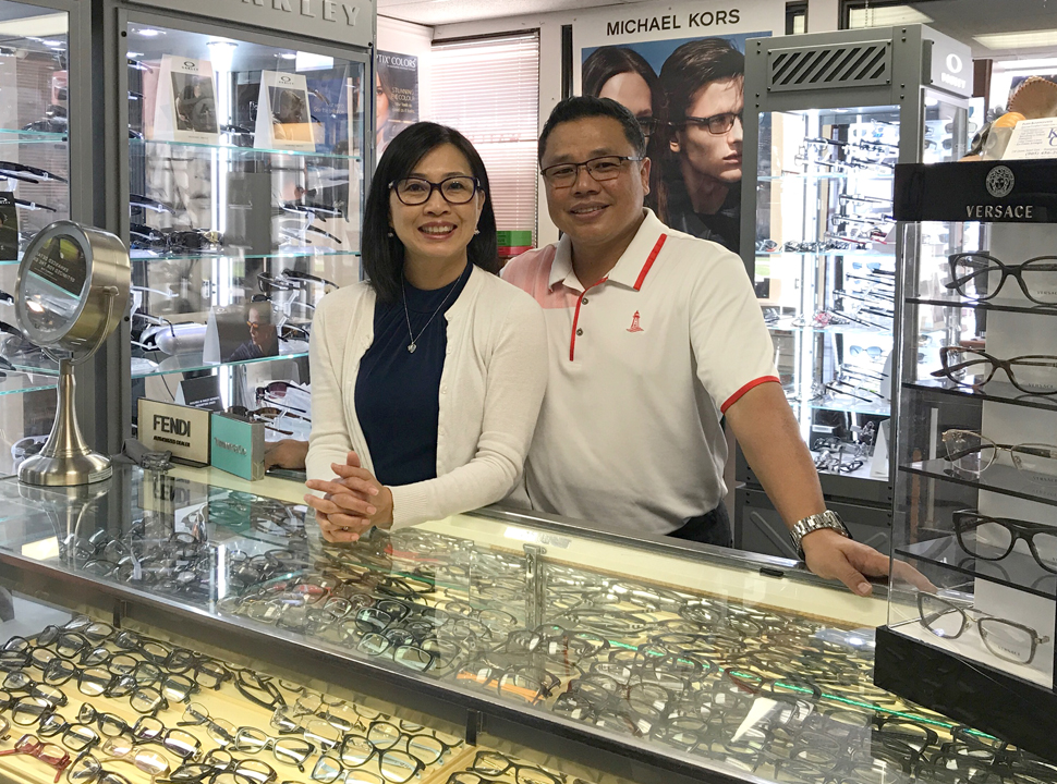 FRAMED: Husband and wife mark quarter-century of quality optical service