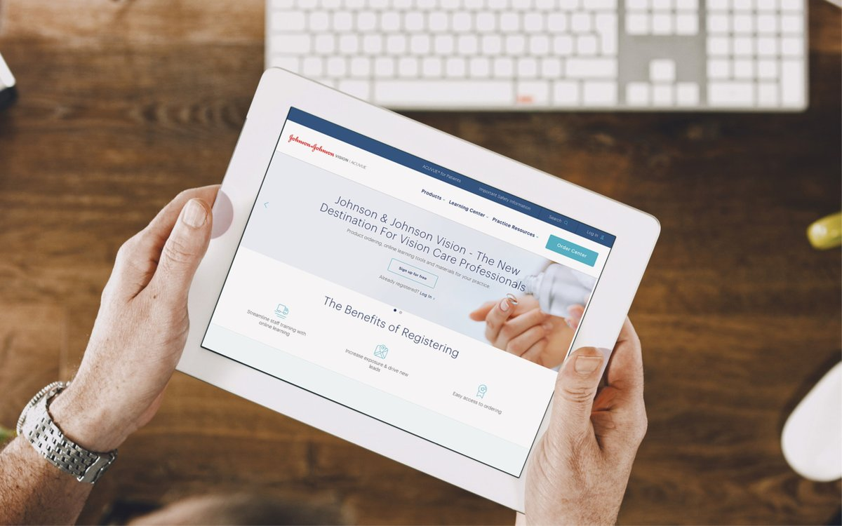Johnson & Johnson Vision announces new Digital Platform for Eye Care Professionals