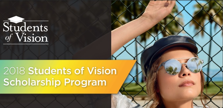 Applications open for 2018 Students of Vision Scholarship Program