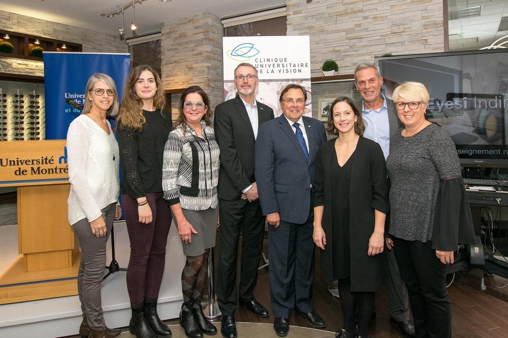 Essilor Canada sponsors the inauguration of the new Clinique universitaire de la vision