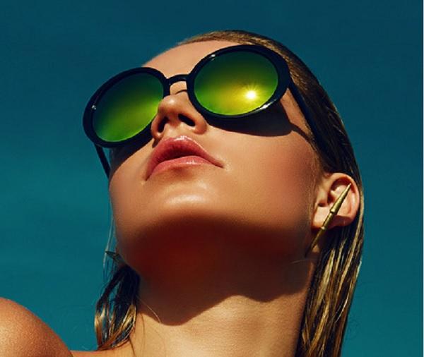Shielding the eyes from UV
