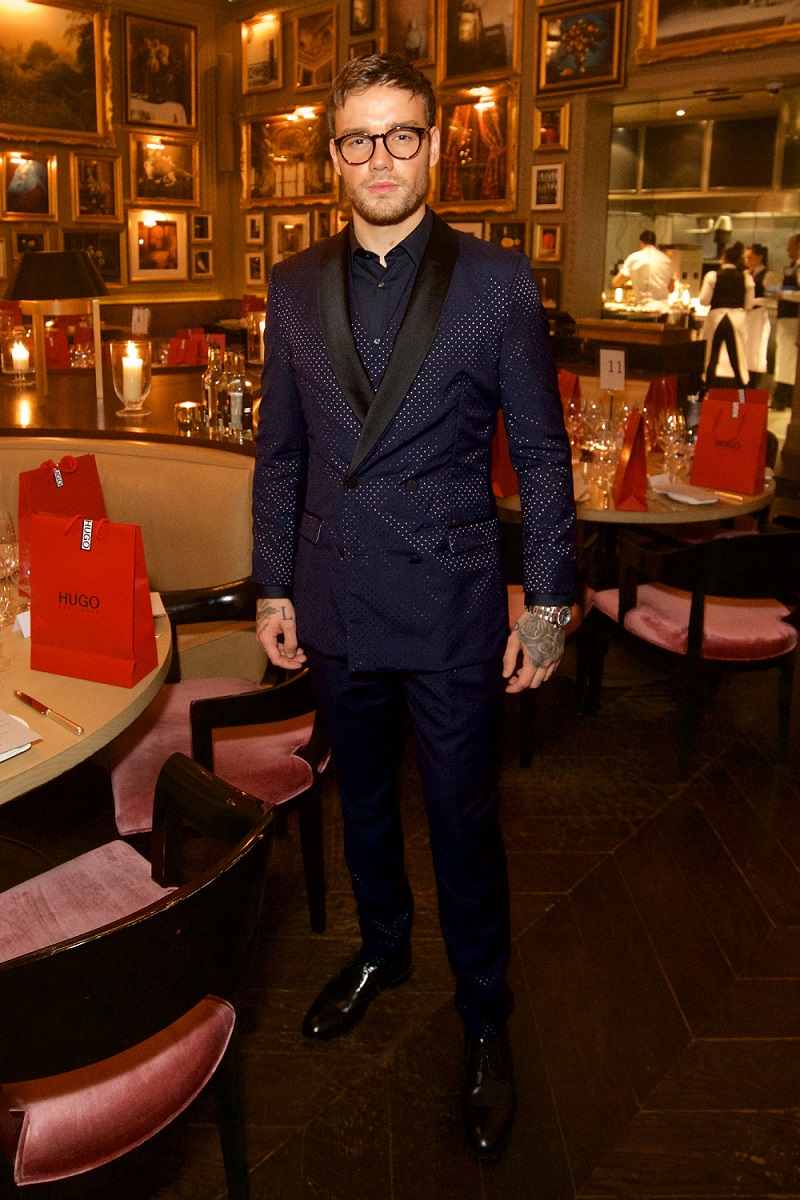 Liam Payne, British singer-songwriter, announced as the official face of HUGO Eyewear
