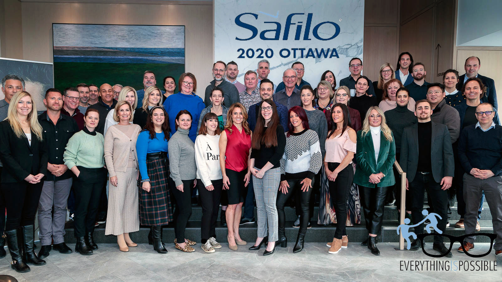 Safilo Canada hosts national sales meeting