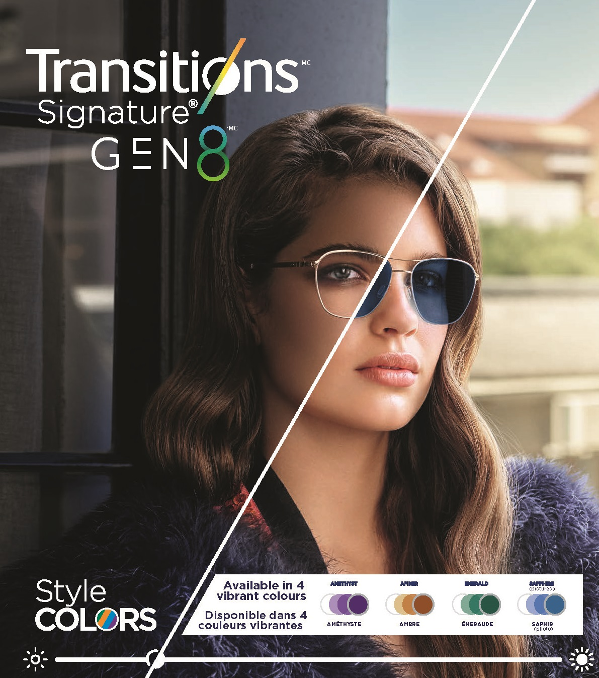 Essilor Canada launches Transitions ® Signature ® GEN 8 TM in exciting new colours