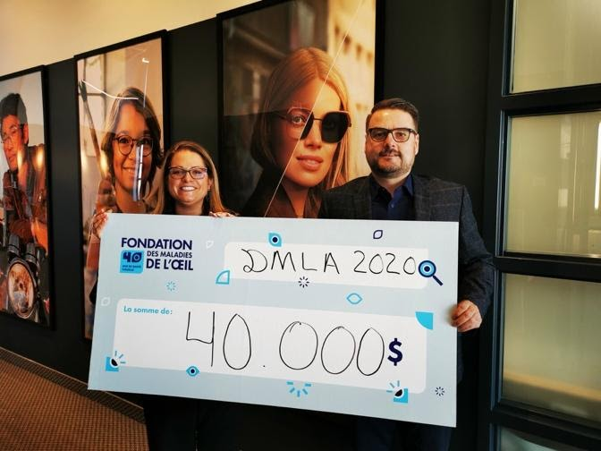 Transitions Optical in Canada Donates $40,000 to Eye Disease Foundation for Age-Related Macular Degeneration Research