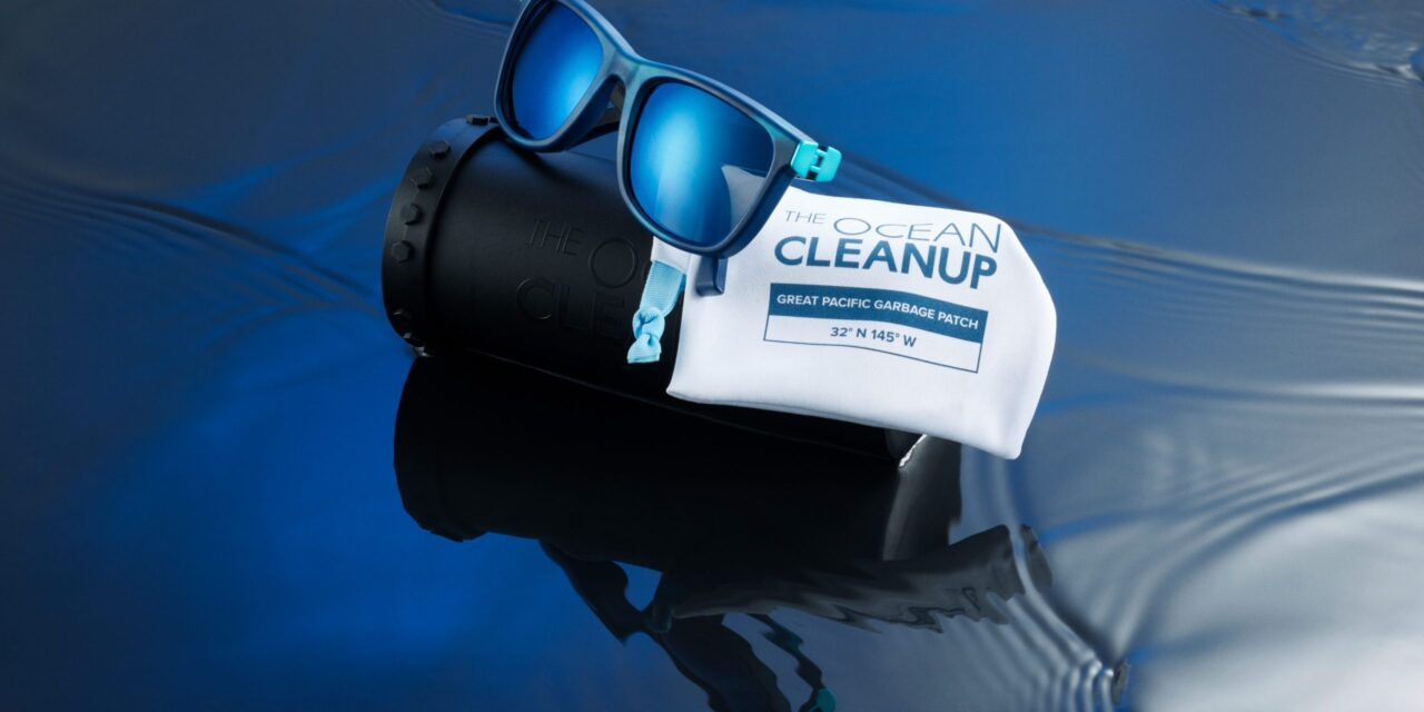 Safilo at Casa Italia Tokyo 2020 showcasing recycled ocean plastic sunglasses