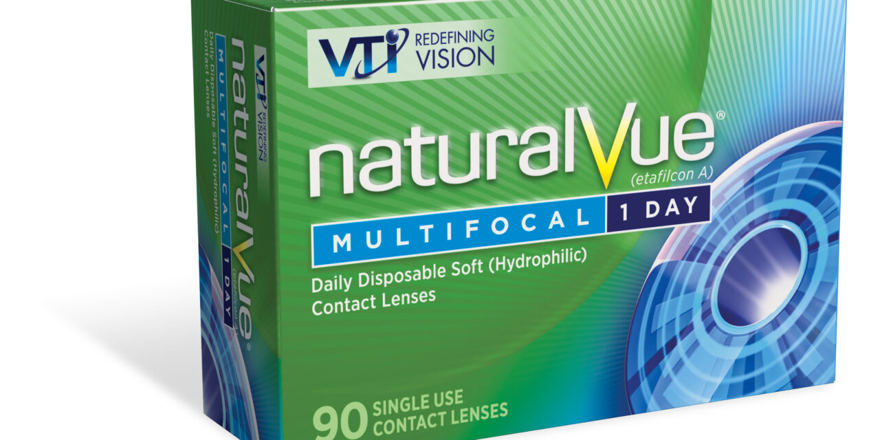 ABB Canada becomes authorized distributor for NaturalVue® Multifocal Contact Lenses in Canada