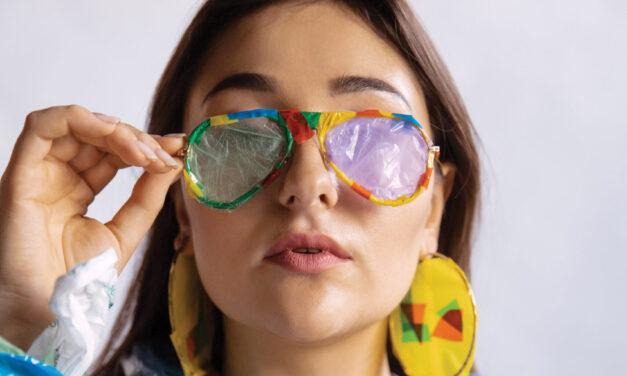 Upcycled eyewear
